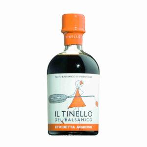 Aceto Balsamico gereift, oranges Etikett