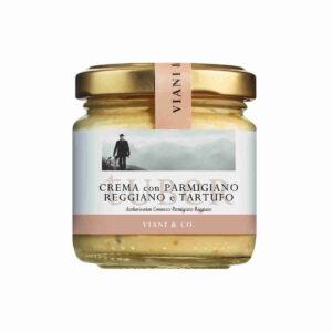 Creme aus Parmigiano und Bianchetto Trüffeln